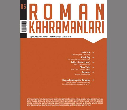 Roman Kahramanları 5. Sayı