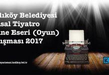Ulusal Tiyatro Sahne Eseri Yarışması Sonuçlandı
